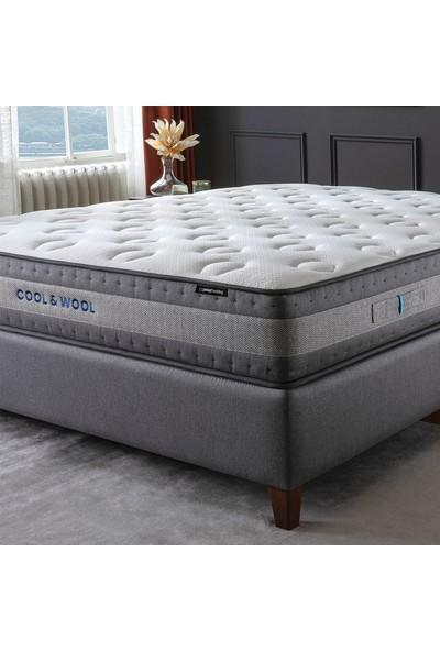 Yataş Bedding Cool&wool Pocket Yaylı Yatak (Tek Kişilik - 100 x 200 Cm.)