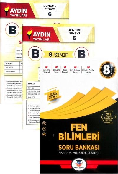 Zeka Küpü Yayınları 8. Sınıf Fen Bilimleri Soru Bankası-Yeni-(Aydın Yayınları Denemeli)