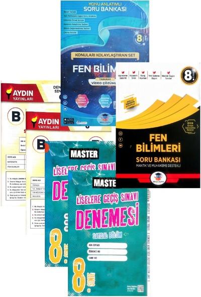 Zeka Küpü Yayınları 8. Sınıf Fen Bilimleri Konu Anlatım+Soru Bankası-Yeni-(Aydın+Okyanus Yayınları Denemeli)