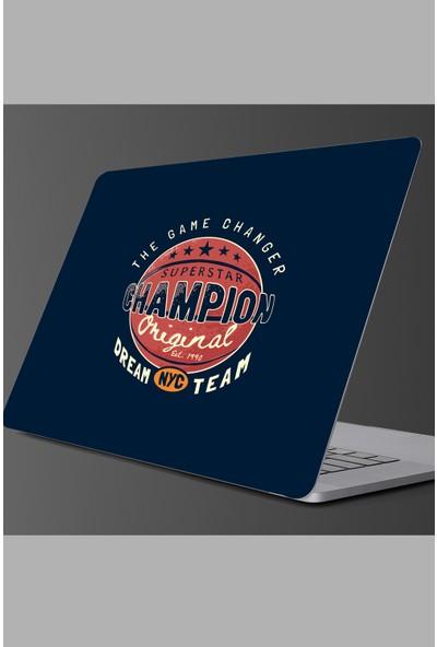 Sim Tasarım - SIM155- Laptop Basketbol Topu Laptop Sticker