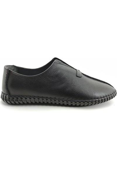 Artmen Plus Serisi 1020506 Hakiki Deri Mokasen Erkek Siyah Günlük Ayakkabı