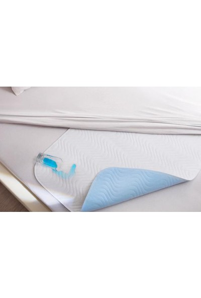 Ata Exclusive Fabrics Abso Emici, Sıvı Geçirmez, Yıkanabilir Kanatlı Yatak Koruyucu (75 x 90 cm.)