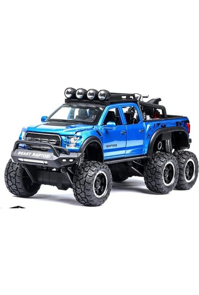 Oyuncak Diyarı 1/28 Kalıp Cas Ford Raptor F150 Oyuncak Araba