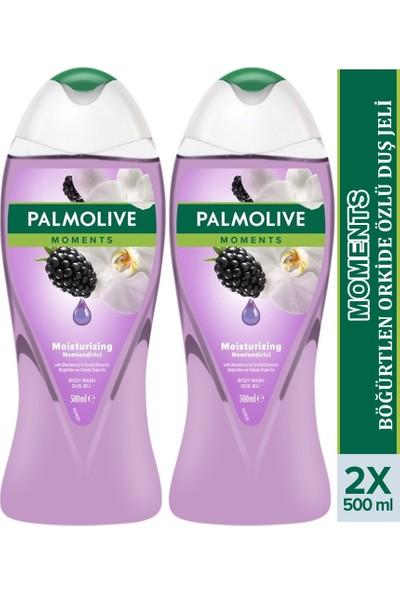 Palmolive Moments Duş Jeli Böğürtlen Orkide 500 ml x 2 Adet