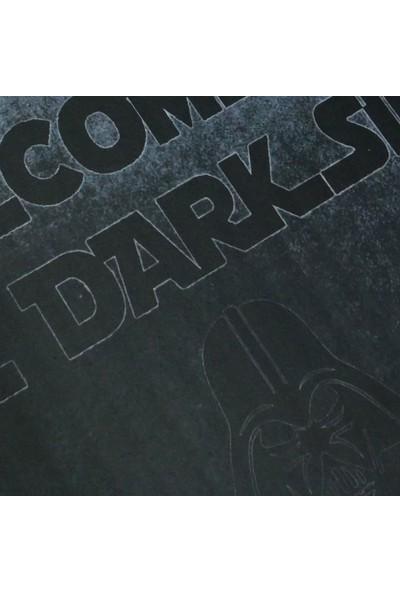 My Floor Myfloor Welcome To Dark Side Temalı Kauçuk Kapı Önü Paspası