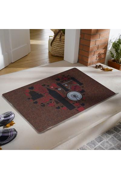 My Floor Myfloor Ingiltere Temalı Kauçuk Kapı Önü Paspası