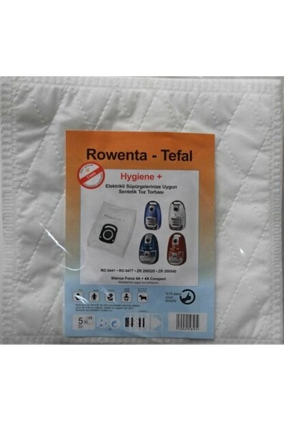 Rowenta Hygiene Plus Toz Torbası