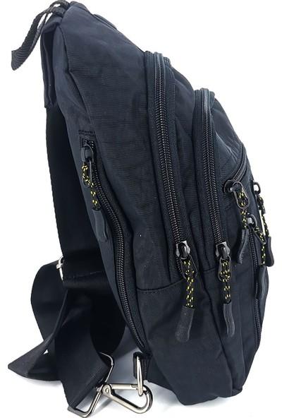 Arı Seventeen 3472 Erkek Body Bag Vücut Çantası Erkek Renk Siyah
