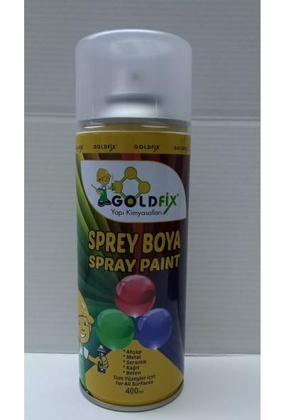 Goldfix Sprey Boya Metalik Gri 400 ml