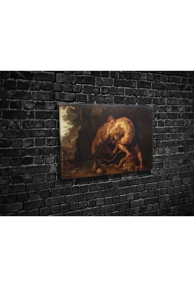 Tablo 360 Pieter Paul Rubens- Heracles And The Nemea Lion Kanvas Tablo