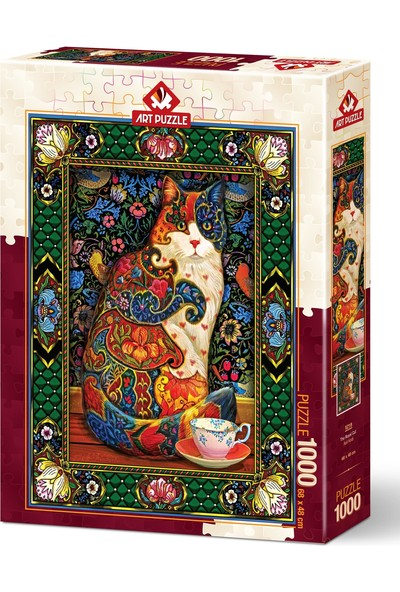 Art Puzzle Asil Kedi 1000 Parça Puzzle