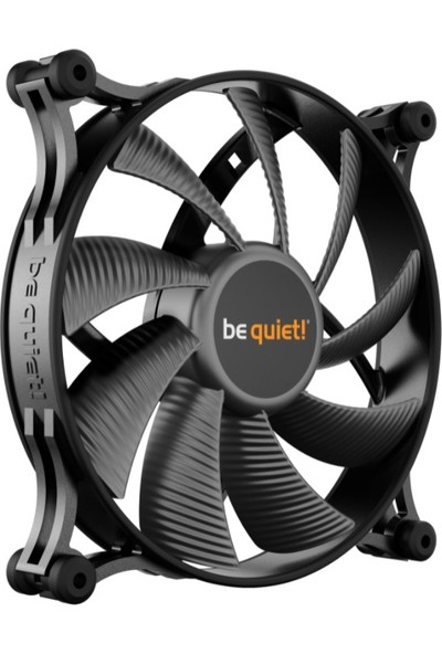 Be Quiet! BL086 3pin Shadow Wings 140MM Kasa Fanı Siyah