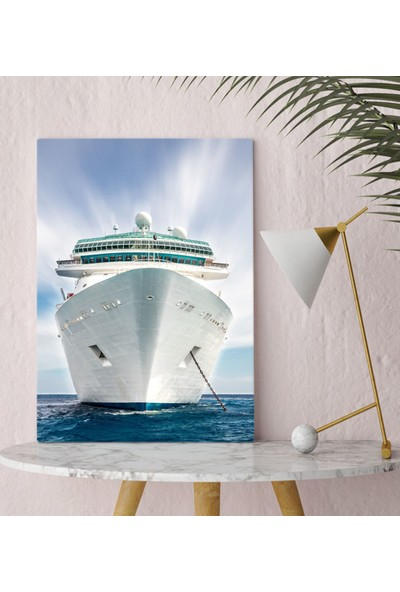 Bitmeyen Kartuş Bk Gift Gemi Kanvas Tablo 30X50CM-5