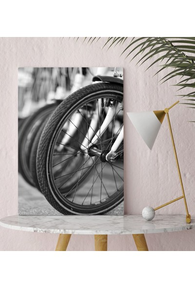 Bitmeyen Kartuş Bk Gift Bisiklet Kanvas Tablo 30X50CM-1