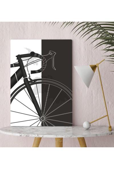 Bitmeyen Kartuş Bk Gift Bisiklet Tasarımlı Kanvas Tablo 30X50CM-1