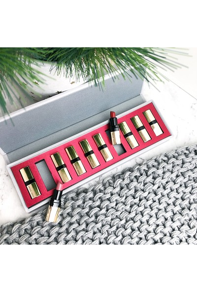 Bobbi Brown Luxe On Luxe Mini Luxe Lip Color Ruj Koleksiyonu Set