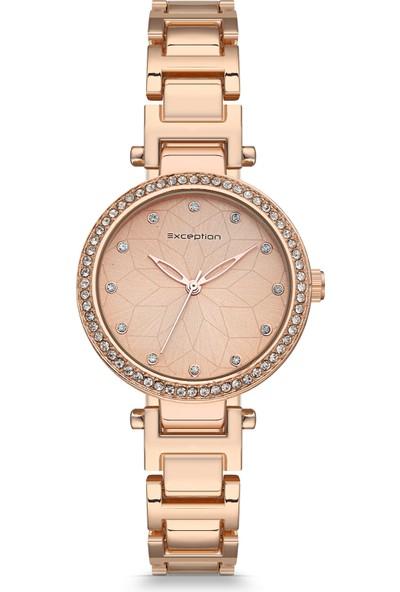 Exception Kadın Kol Saati Moda Trend Bayan Rose Gold 638601