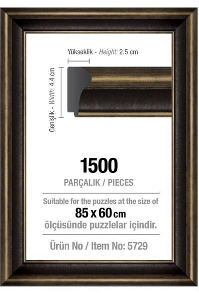 Art Puzzle 1500' Lük Siyah 85 x 60 cm (43 mm ) Puzzle Çerçevesi