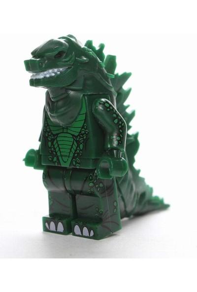 Xinh Movie Film Mini Figür Green Godzilla X-220