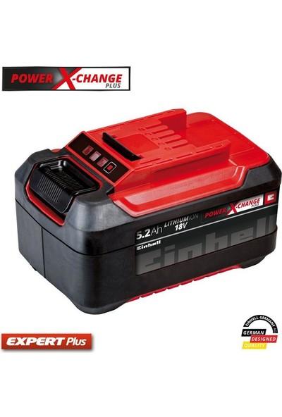 Einhell Power X-Change Li-On Akü 18 Volt 5,2 Ah Plus