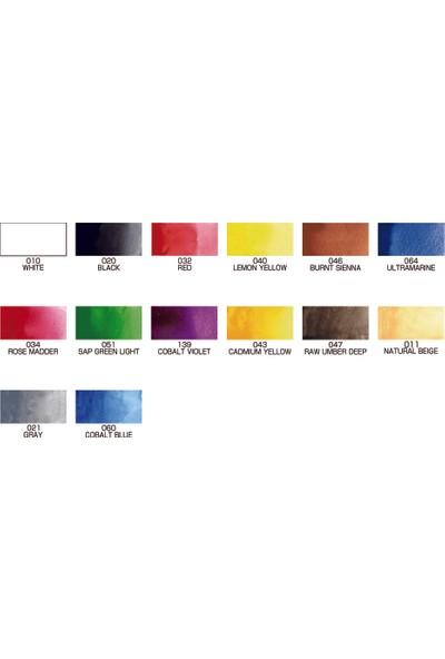 Zig Gansai Tambi 14 Renk Suluboya Seti Hediyeli
