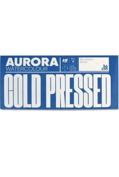 Aurora Suluboya Blok 18 x 36 300 gr 20 Yaprak