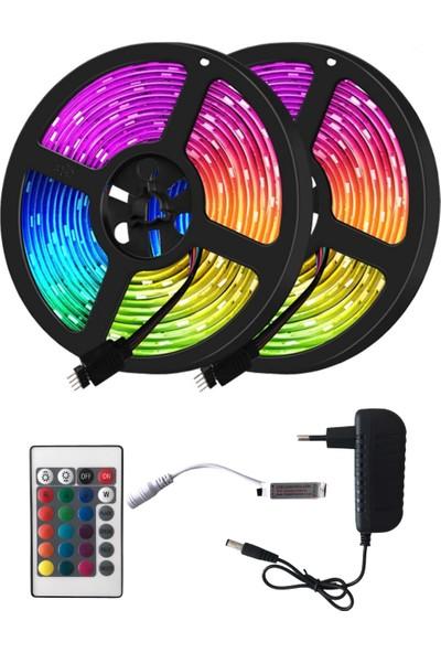 Vista Rgb Kumandalı Animasyonlu Iç ve Dış Mekan Set Şerit LED 5 M