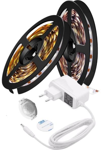 Vista Hareket Sensörlü Şerit LED Tak Çalıştır 2 M