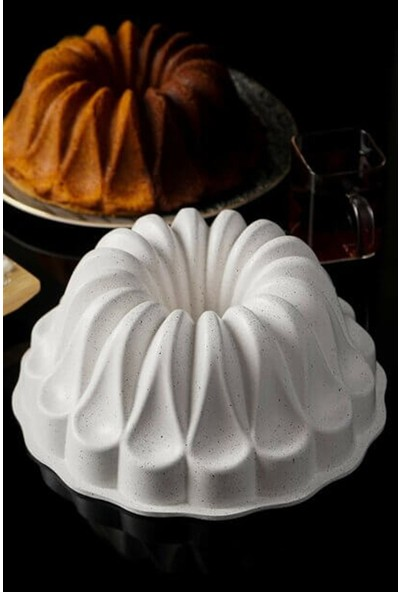 Mutfak Kitap Döküm Rüya Kek Kalıbı Beyaz