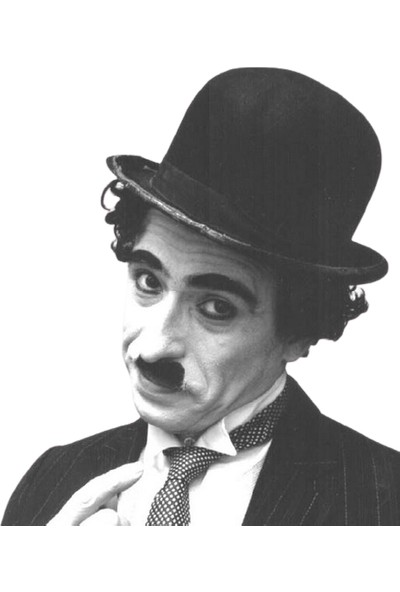 Tahtakale Market Charlie Chaplin Şapka Yetişkin Boy Melon Şapka