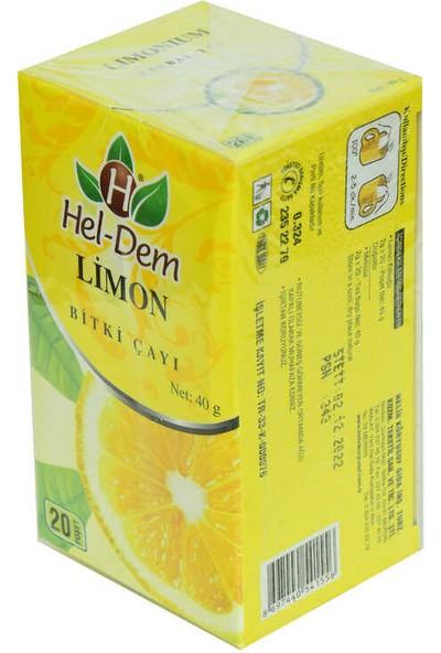 Hel-Dem Limon Bitki Çayı 2 gr x 20 Süzen Poşet 40 gr