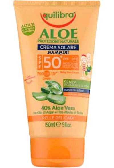 Equilibra Aloe Çocuklar Için Güneş Kremi Spf 50+ 50 ml
