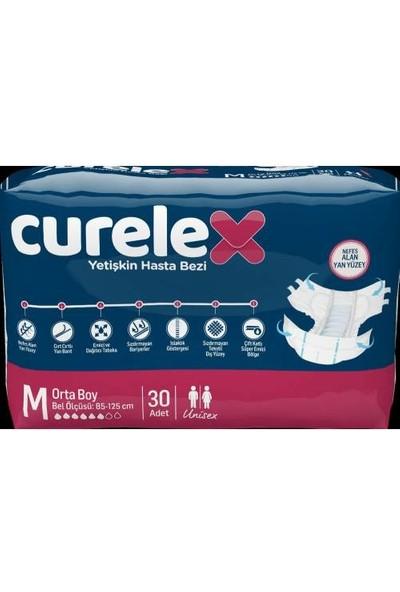Curelex Belbantlı Medium-Orta Beden Yetişkin Hasta Alt Bezi