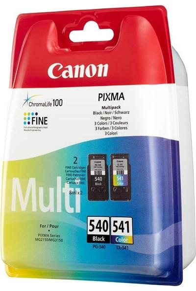 Canon PG-540/CL-541 Multi-Pack Orijinal 2'li Mürekkep Kartuşu Seti