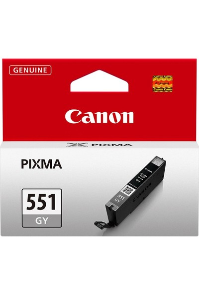 Canon CLI-551 GY Orijinal Gri Mürekkep Kartuşu
