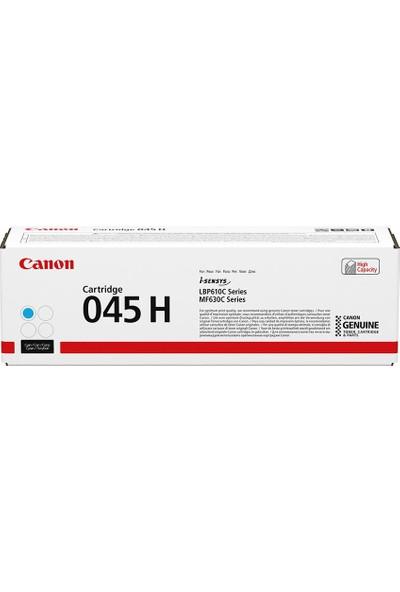 Canon CRG 045 H C Yüksek Kapasiteli Orijinal Cam Göbeği (Mavi) Toner