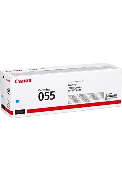 Canon CRG 055 C Orijinal Cam Göbeği (Mavi) Toner