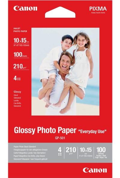 Canon 4X6 Glossy GP-501 Orijinal Fotoğraf Kağıdı 100SH