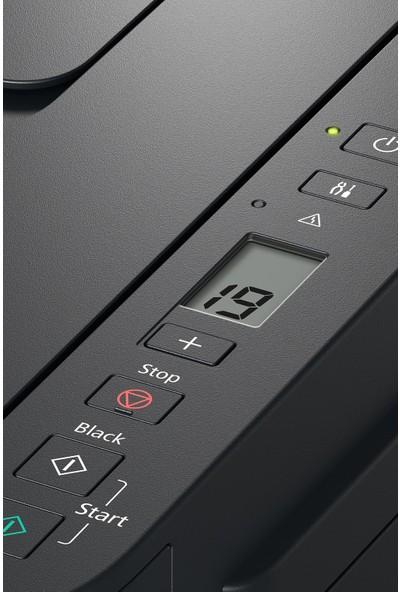 Canon G2411 Renkli Mürekkep Tanklı Yazıcı / Fotokopi+Tarama (Canon Eurasia Garantili)