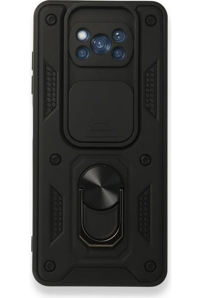 MobaxAksesuar Xiaomi Poco X3 / X3 Pro Nfc Kılıf Lens Korumalı Zırh Case