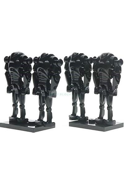 Xinh Clone Wars Super Battle Droid 4lü Set Mini Figür Star Wars X-46
