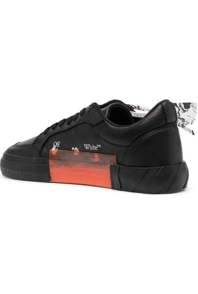 Off White Deri Erkek Sneaker