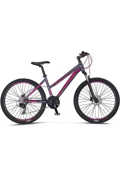 Mosso Wildfire 27.5 H 16 Bayan Dağ Bisikleti Antrasit-Pembe