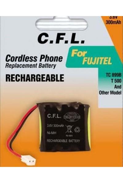 C.F.L. Telsiz Telefon Şarjlı Pil 3.6V 300 Mah Fujitel ve Panasonic Telsiz Telefon Pili C.f.l Tc 899B