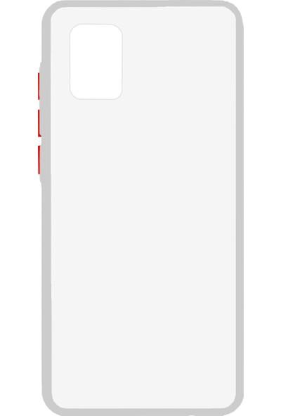 Nettech Samsung Galaxy A31 Için Nettech Montreal Seri Silikon Kılıf