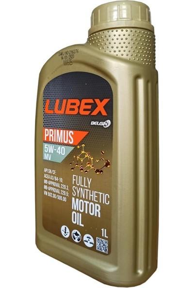 Lubex Primus 5W-40 MV 1 Litre Motor Yağı ( Üretim Yılı: 2021 )