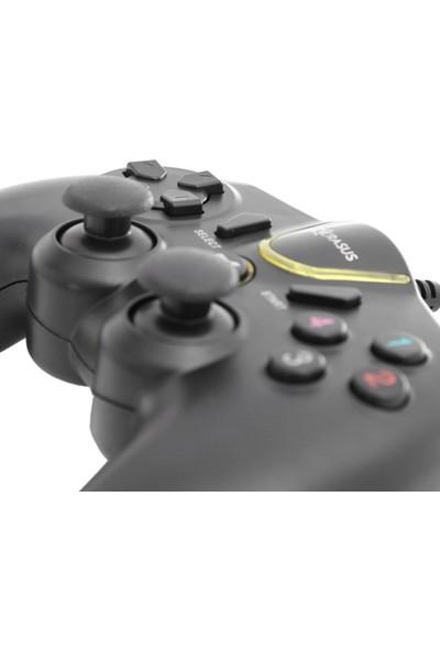 Kerasus KR-2829 Titreşimli Kablolu Bilgisayar Oyun Kolu Gamepad