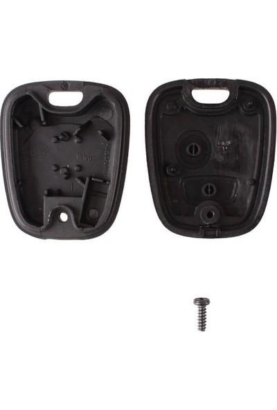 Esan Peugeot 307 2 Buton Kumanda Kabı Anahtar Kabı HU83 Anahtarlı
