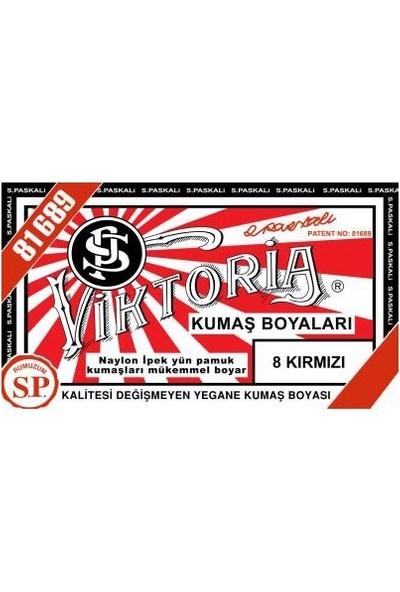 Viktoria 8 Kumaş Boyası Kırmızı 3'lü