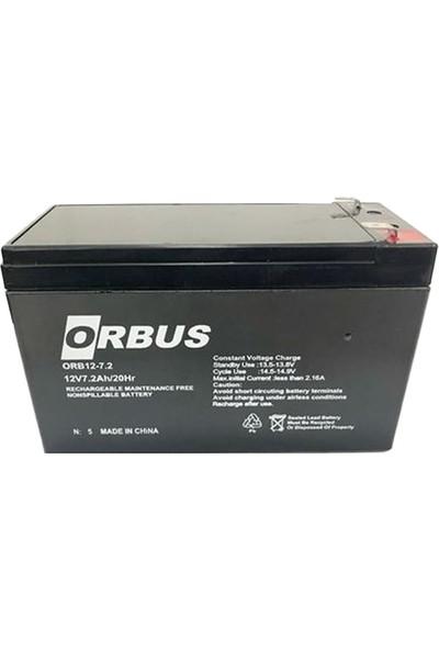 Orbus ORB-12V 7AH Bakımsız Kuru Akü